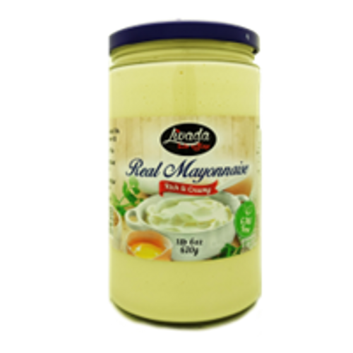"""Livada"" Mayonnaise real jar 630gr"