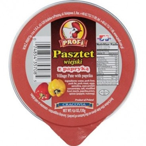Profi Pork Village Pate with Paprika / Pasztet Wiejski z Papryka