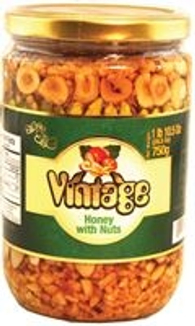 Vintage Honey W Nuts 750gr