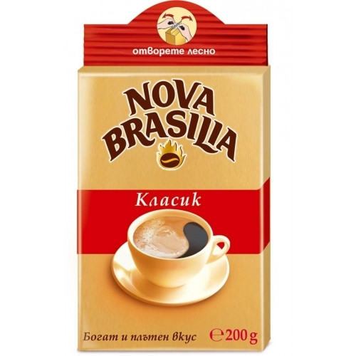 Nova Brazilia Classic Ground 200g