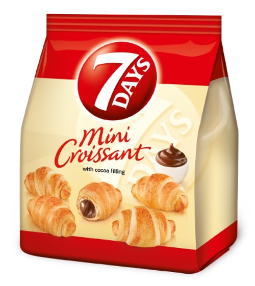 7days Mini Croissants Chocolate 185g