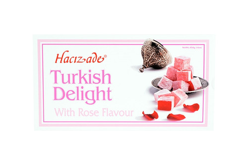Hacizade Turkish Delight with Rose 454g