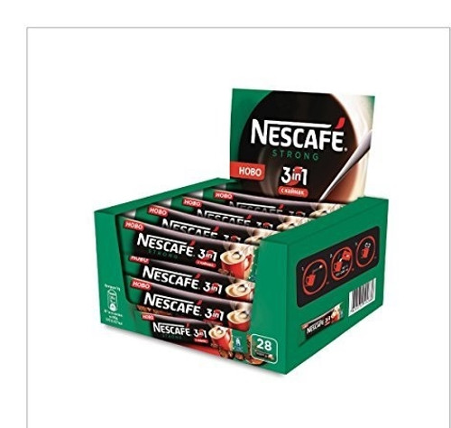Nescafe 3 in 1 Strong 28 x 18g