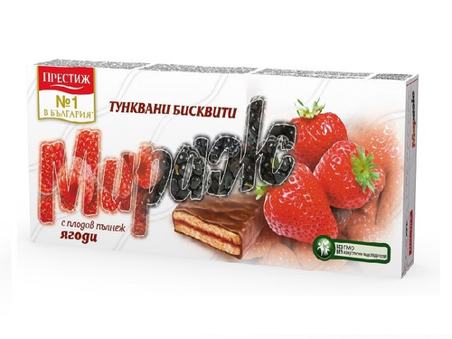 Coated Biscuits Mirage w Strawberry