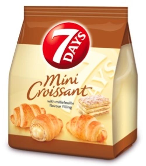 7days Mini Croissants Vanilla 185g