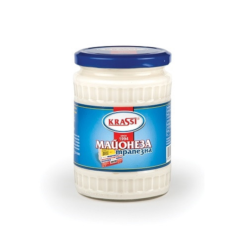 Krassi table mayonnaise in jar 500 g