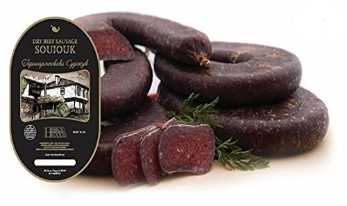 Dry Cured Beef Salami (Soudjouk)