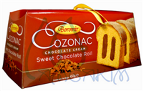COZONAC w/ CHOCOLATE RED BOX 450g