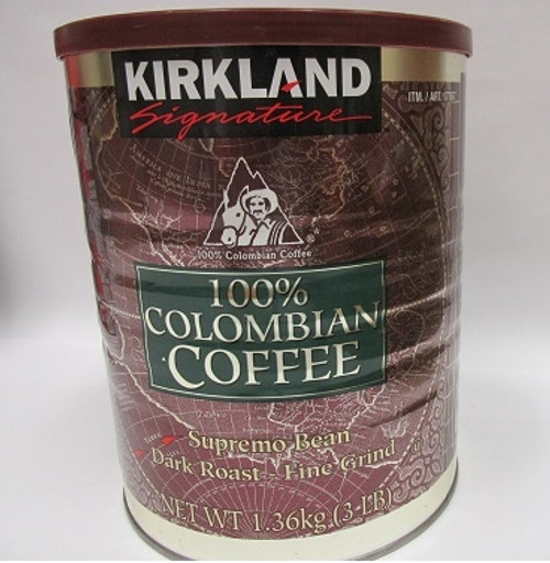 100% Columbian Coffeee 3Lb