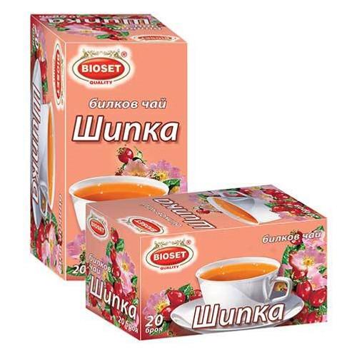 Herbal Tea Rose Hip 20pcs 30g