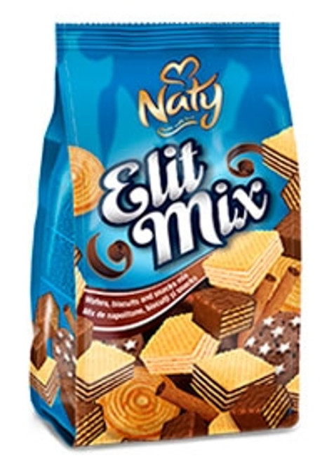 NATY ELIT MIX - Wafers, biscuits and snacks mix 300g