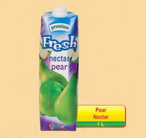 Fresh Pear Nectar 1L