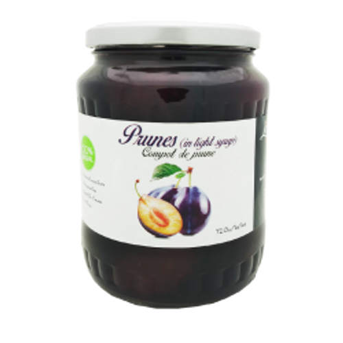 """Livada"" Compot Prunes in light Syrup 720g"