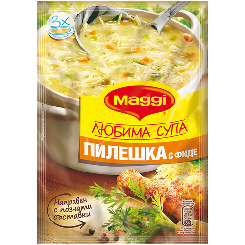 Soup Maggi Favorite Chicken with Vermicelli 50 g