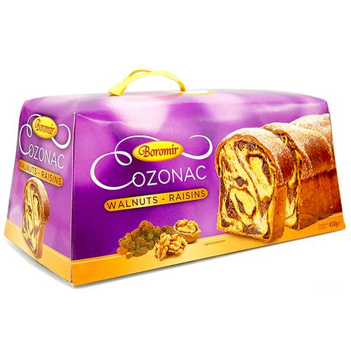 Boromir COZONAC w/ WALNUTS and RAISINS 450g