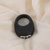 Mio Rechargeable Silicone Vibrating Cock Ring By Je Joue - Black