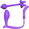 Fantasy C-Ringz Ass-Gasm Vibrating Rabbit With Remote By Pipedream - Purple