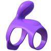 Fantasy C-Ringz Silicone Ultimate Couples Cage By Pipedream - Purple