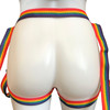 """Inclusion Rainbow Strap-On Harness - Size B Fits Hips Up To 65"""""""