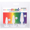 Mood Naughty Pride Silicone Butt Plug 3-Piece Trainer Set by Doc Johnson