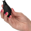 Nipple Play Nipplettes Rechargeable Vibrating Nipple Clamps By CalExotics - Black