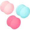She-ology Interchangeable Weighted Silicone Kegel Set by CalExotics
