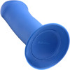 Squeeze-It Squeezable Thick Suction Cup Dildo - Blue
