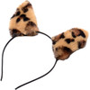 Tailz Waggerz Vibrating & Wagging Silicone Anal Plug With Leopard Faux Fur Tail & Remote