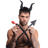 Tailz Devil Tail Set - 2 Piece Kit With Red Silicone Tail Anal Plug