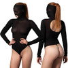 My Addiction Masked Bodysuit with Beaded G-String by Leg Avenue