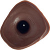 B.J. Dildo Next Generation Silicone Dual Function Dildo By Number One Laboratory - Chocolate