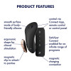 Satisfyer Little Secret Rechargeable Waterproof App Enabled Silicone Panty Vibrator - Black