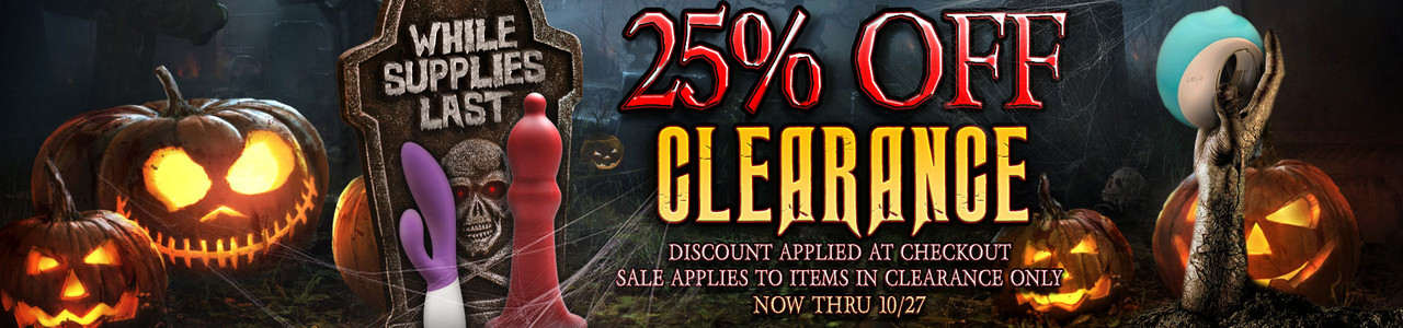 25% Off Clearance! Discount Applied At Checkout - Now Thru 10/27