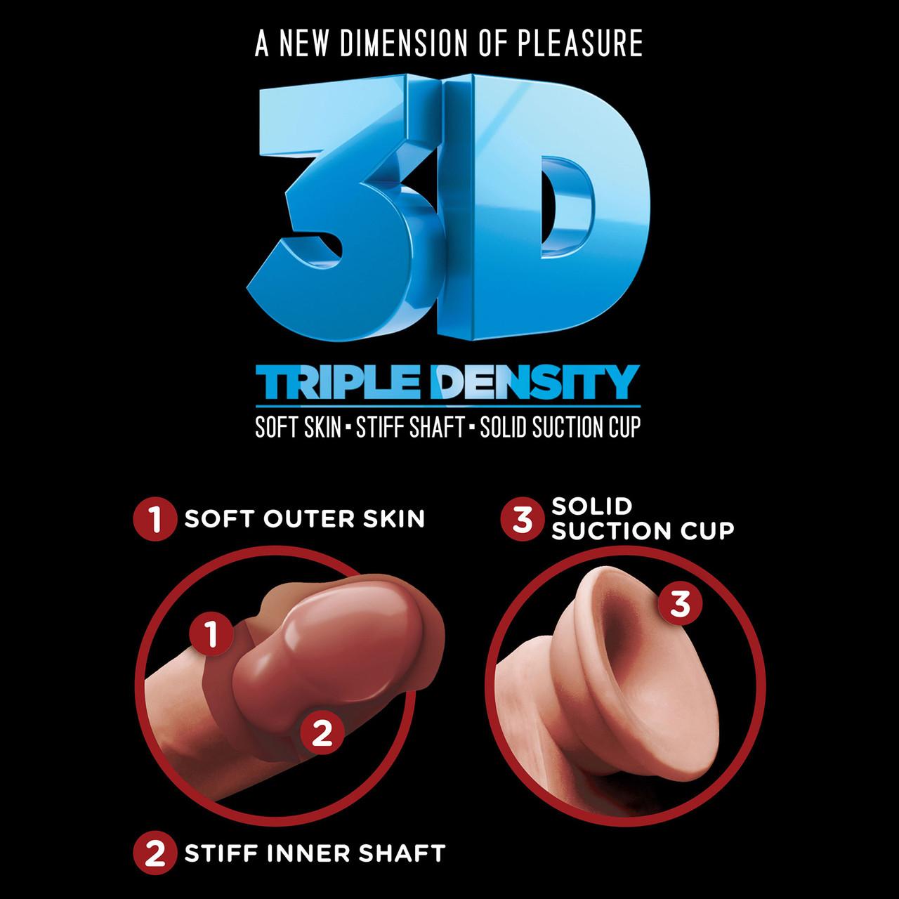 King Cock Plus Triple Density 3D Graphic
