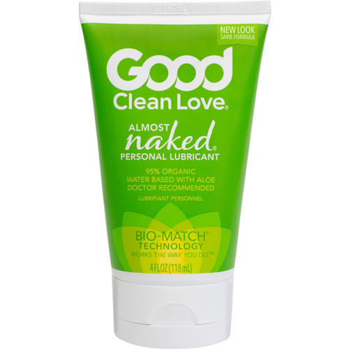 Good Clean Love Almost Naked Organic Personal Lubricant 4 oz