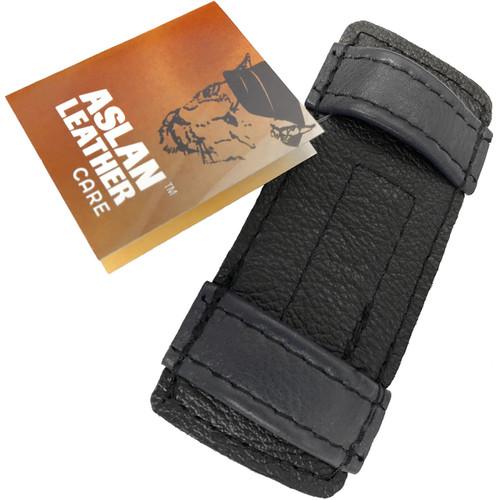 Aslan Double Up Dildo Cuffs - Black