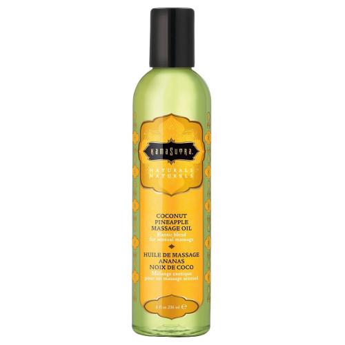 Kama Sutra Naturals Massage Oils Coconut Pineapple 8 fl oz