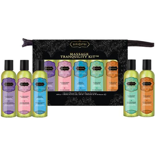 Kama Sutra Massage Tranquility Kit - 5 Soothing Oils