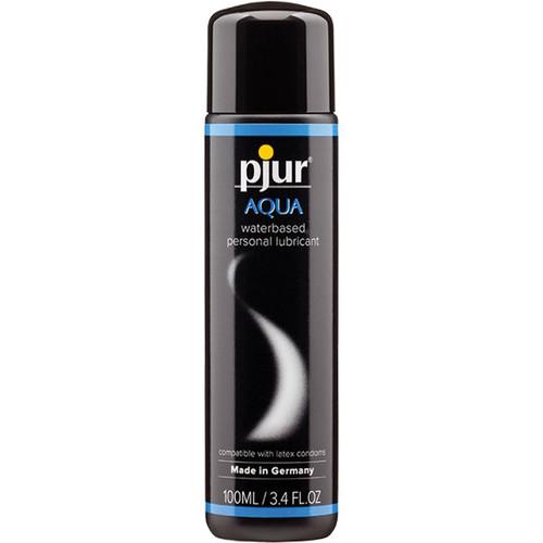 Pjur Aqua Water-Based Personal Lubricant 3.4 oz / 100 ml