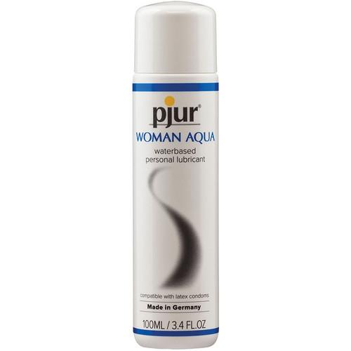 Pjur Woman Aqua Water Based Personal Lubricant 3.4 oz / 100 ml