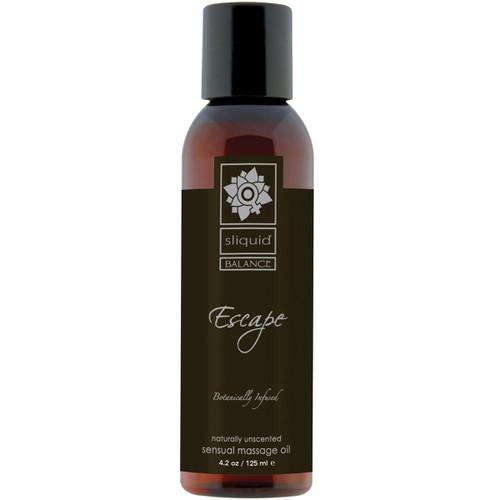 Sliquid Balance Massage Oil - Escape 4.2 fl oz