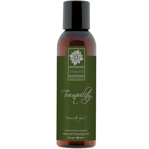 Sliquid Balance Massage Oil - Tranquility 4.2 fl oz