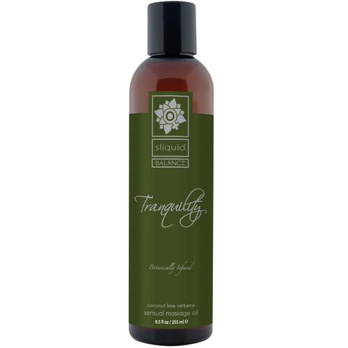 Sliquid Balance Massage Oil - Tranquility 8.5 fl oz