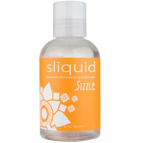 Sliquid Naturals Sizzle Water Based Stimulating Lubricant 4.2 fl oz