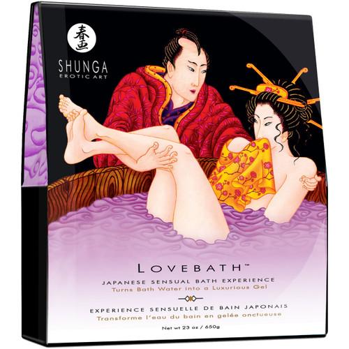 Shunga Lovebath - Sensual Japanese Bath Experience - Sensual Lotus 23 oz