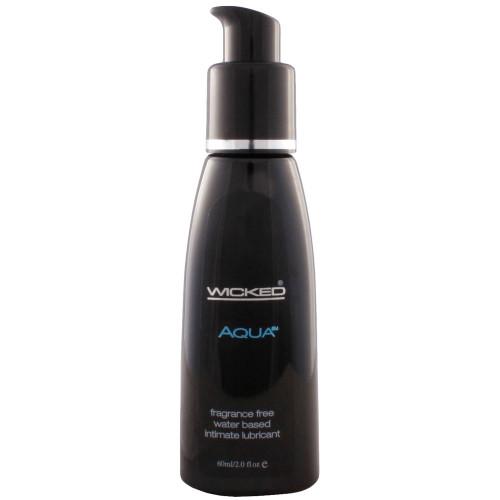 Wicked Aqua Fragrance Free Personal Lubricant 2 oz