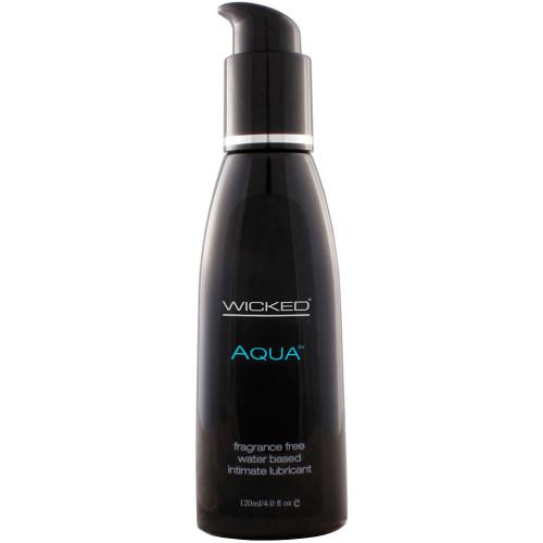 Wicked Aqua Fragrance Free Personal Lubricant 4 oz