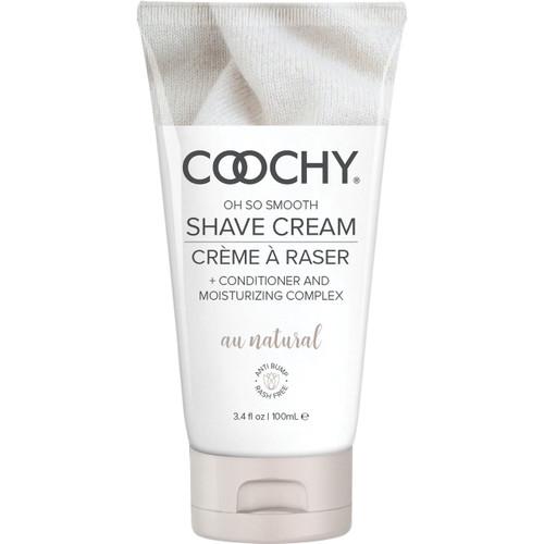 COOCHY Oh So Smooth Shave Cream - Au Natural 3.4 oz (100 mL)