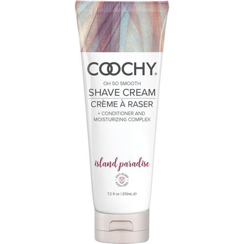 COOCHY Oh So Smooth Shave Cream - Island Paradise 7.2 oz (213 mL)