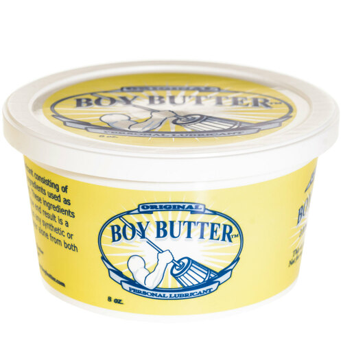 Boy Butter Oil Based Personal Lubricant Original Formula 8 oz